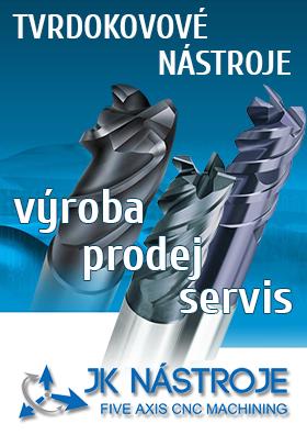 Tvrdokovové nástroje - výroba, prodej, ostření